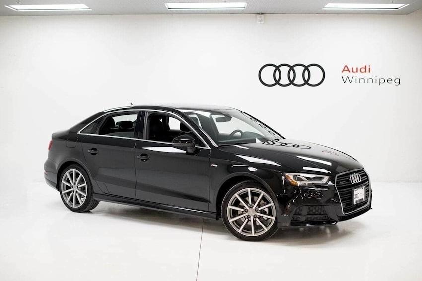 2018 Audi A3 Sedan 2.0T Technik Sedan