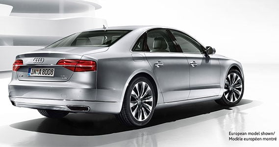 2018 Audi A8 and S8 models
