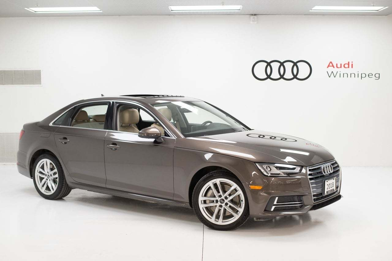 2018 Audi A4 Sedan Technik *save over $19,500 from new!* Sedan