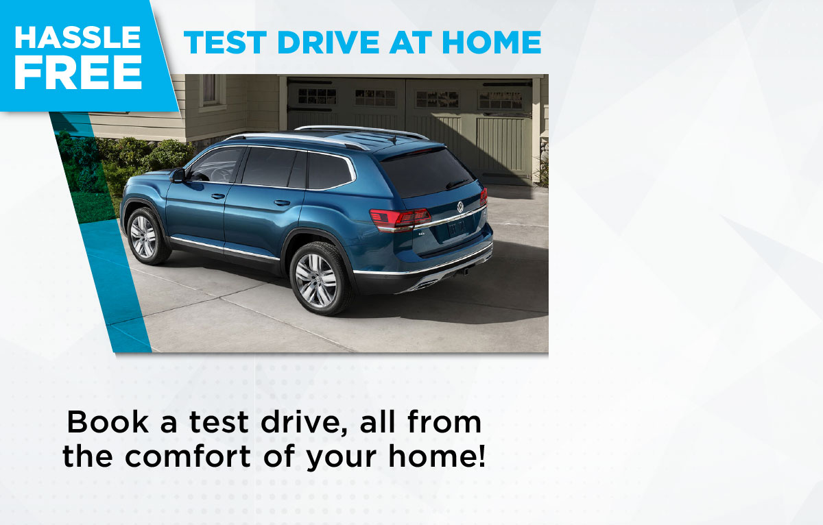 Test Drive at Home - The hassle free way to book a test drive.