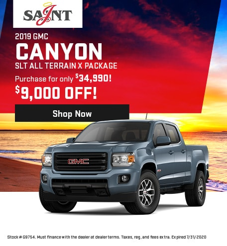 2019 GMC Canyon SLT All Terrain X Package
