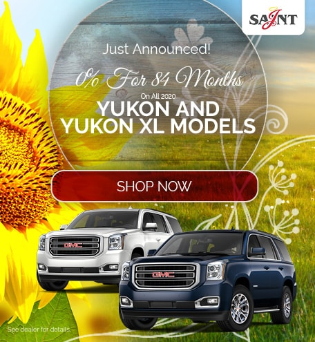 0% For 84 Months On All Yukon and Yukon XL Models