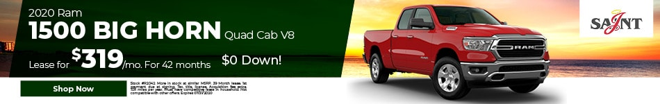 2020 Ram 1500 Big Horn Quad Cab V8