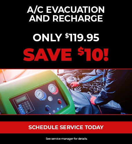 A/C Evacuation and Recharge