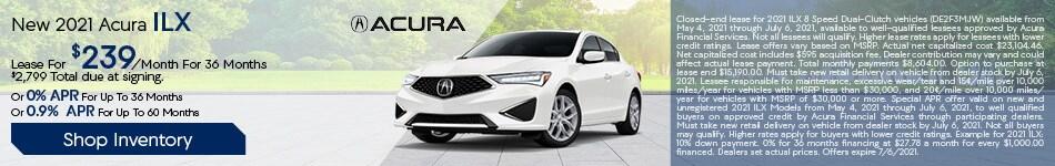 New 2021 Acura ILX