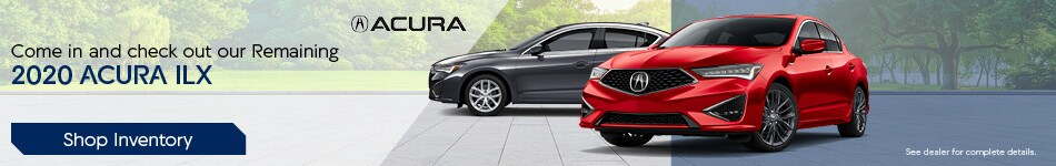 Come in and check out our Remaining 2020 Acura ILX