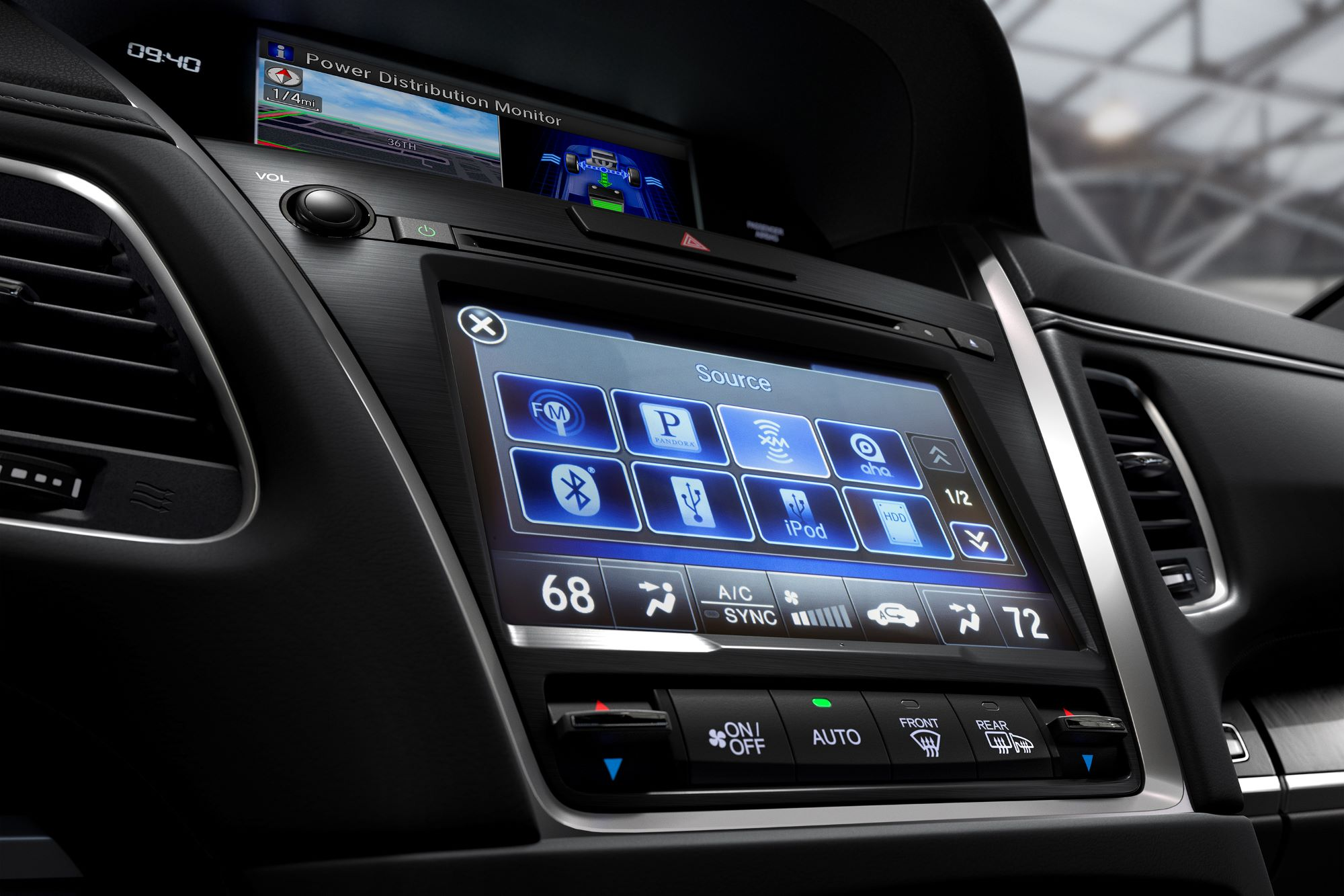 New Acura RLX Technology