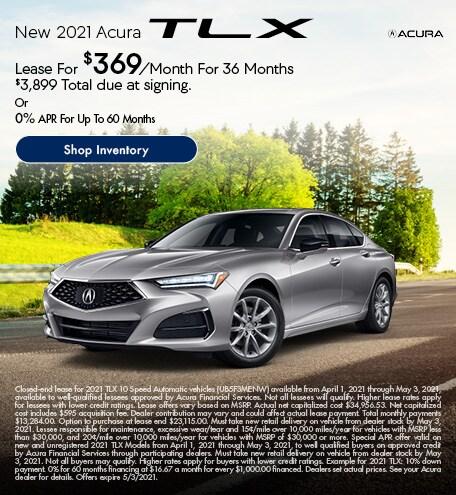 New 2021 Acura TLX