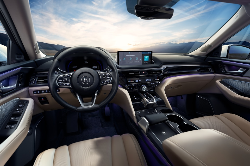 New 2022 Acura MDX Interior