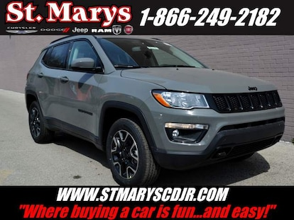 New 2019 Jeep Compass UPLAND 4X4 For Sale | St  Marys PA