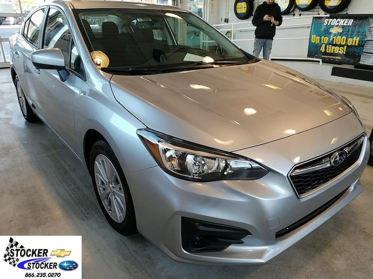 Used 2018 Subaru Impreza 2.0i Premium Sedan for sale in State College, PA at Stocker Subaru