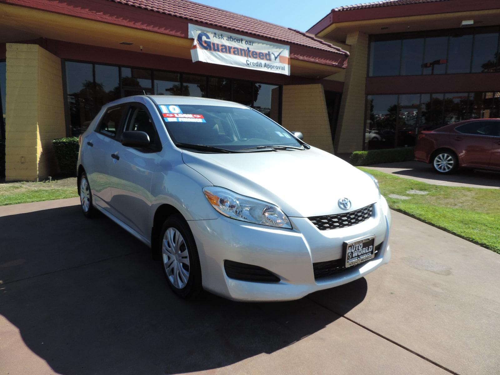 Used 2010 Toyota Matrix For Sale
