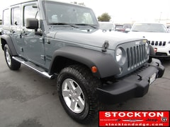 Used 2014 Jeep Wrangler Unlimited Sport SUV Lodi California