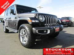 New Chryser Dodge Jeep Ram 2019 Jeep Wrangler UNLIMITED SAHARA 4X4 Sport Utility Stockton, CA