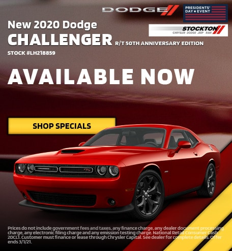 February | 2020 Dodge Challenger R/T 50th Anniversary Edition