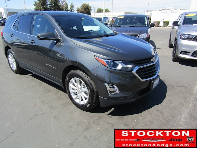 Used 2018 Chevrolet Equinox LT w/1LT *Previous Daily Rental SUV in Stockton