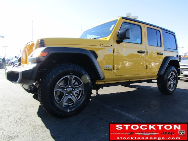 New 2018 Jeep Wrangler UNLIMITED SPORT S 4X4 Sport Utility for Sale in Stockton, CA