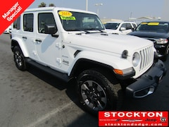 New Chryser Dodge Jeep Ram 2018 Jeep Wrangler UNLIMITED SAHARA 4X4 Sport Utility Stockton, CA