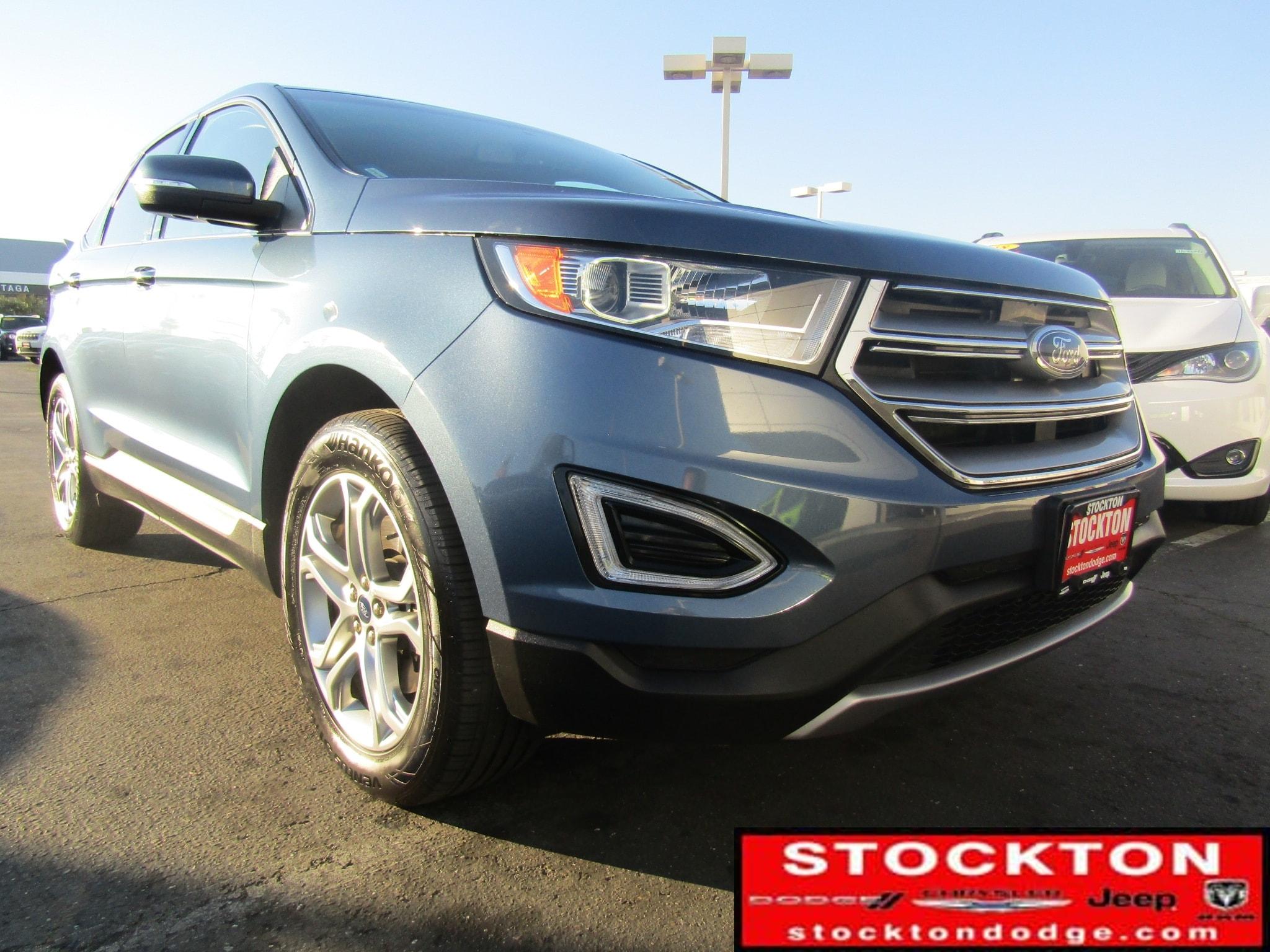 Used 2018 Ford Edge Titanium *Previous Daily Rental SUV Lodi California