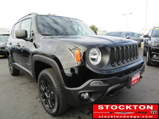 New 2018 Jeep Renegade UPLAND 4X4 Sport Utility for Sale in Stockton, CA