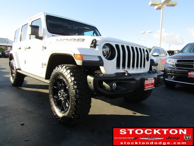 New 2018 Jeep Wrangler UNLIMITED MOAB 4X4 Sport Utility for Sale in Stockton, CA