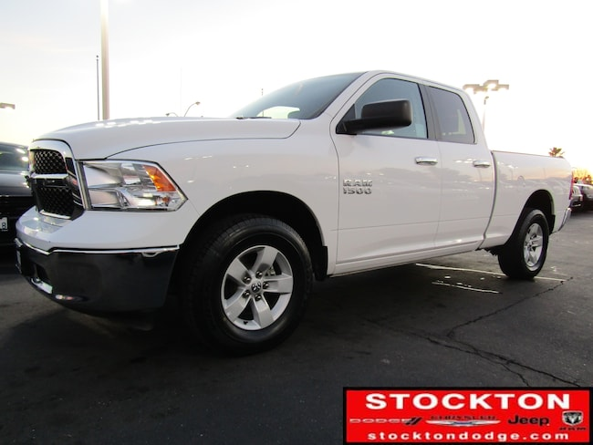 Used 2018 Ram 1500 SLT *Previous Daily Rental Crew Cab Truck in Stockton