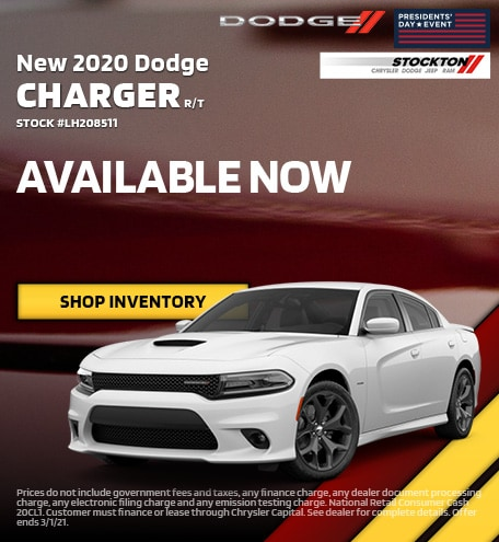 February | 2020 Dodge Charger R/T