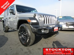 New Chryser Dodge Jeep Ram 2019 Jeep Wrangler UNLIMITED SPORT 4X4 Sport Utility Stockton, CA