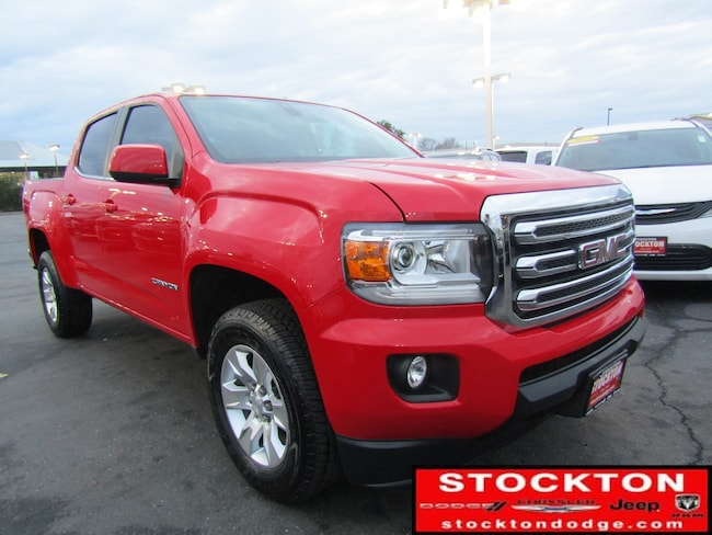 Used 2017 GMC Canyon SLE Crew Cab in Stockton