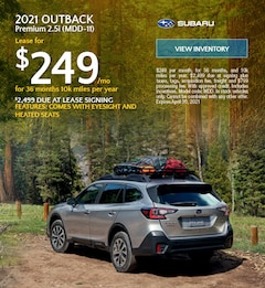 2021 Outback - (MDD-11)  - $249 Lease