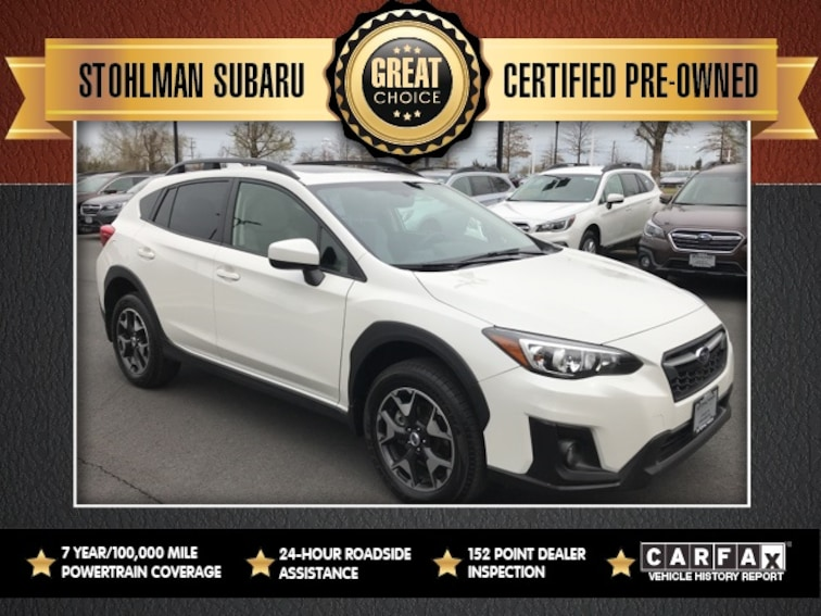Certified 2018 Subaru Crosstrek 2.0i Premium with SUV Sterling, VA