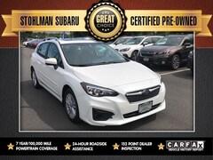 Certified 2018 Subaru Impreza 2.0i Premium 5-door 4S3GTAB68J3734818 Sterling, VA