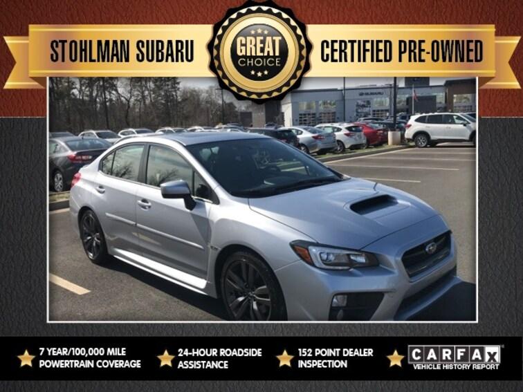 Used 2017 Subaru WRX Sedan in Herndon, VA