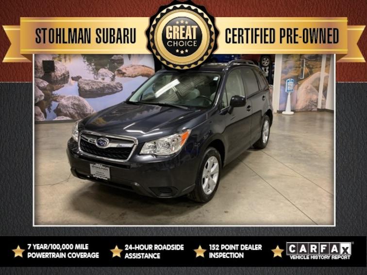 Used 2016 Subaru Forester 2.5i Premium SUV in Herndon, VA