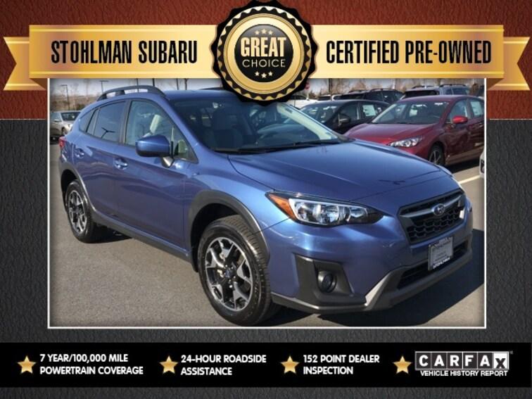 Certified 2019 Subaru Crosstrek 2.0i Premium SUV Sterling, VA