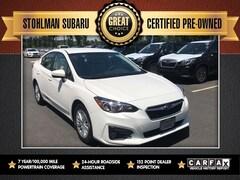 Certified 2018 Subaru Impreza 2.0i Premium Sedan 4S3GKAD6XJ3623476 Sterling, VA