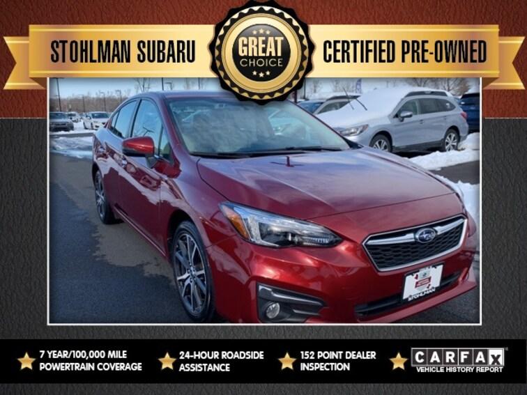 Used 2017 Subaru Impreza 2.0i Limited Sedan in Herndon, VA