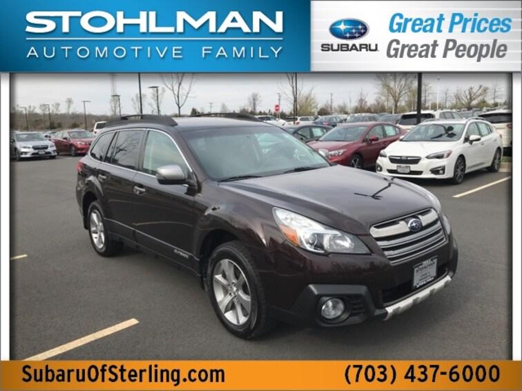 Used 2013 Subaru Outback 2.5i Limited (CVT) SUV in Herndon, VA