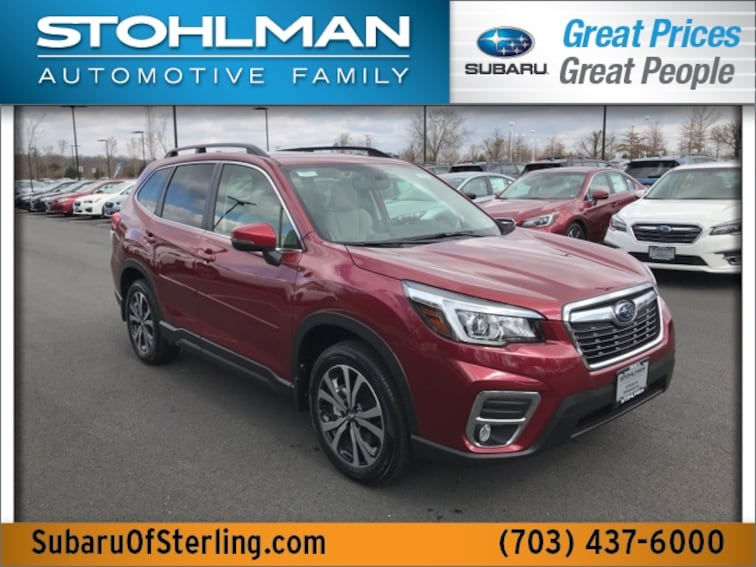 New 2019 Subaru Forester Limited SUV for sale in Sterling, VA