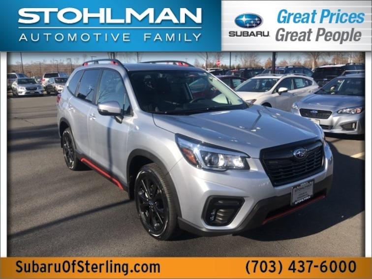 New 2019 Subaru Forester Sport SUV for sale in Sterling, VA