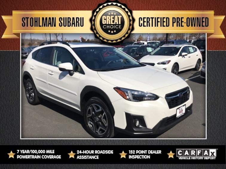 Certified 2018 Subaru Crosstrek 2.0i Limited SUV Sterling, VA