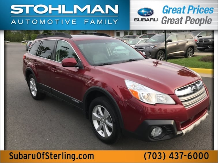 Used 2013 Subaru Outback 2.5i Limited (CVT) SUV in Herndon, VA