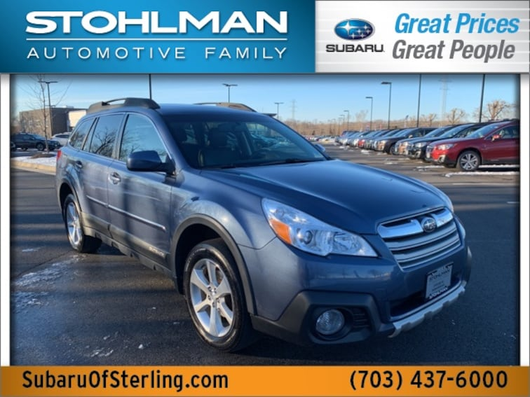 Used 2014 Subaru Outback 2.5i Limited (CVT) SUV in Herndon, VA