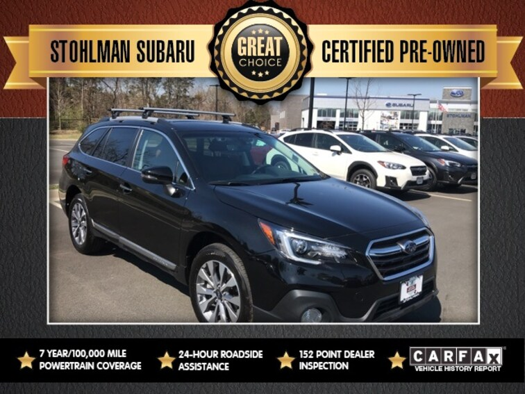 Certified 2018 Subaru Outback 2.5i Touring with Starlink SUV Sterling, VA