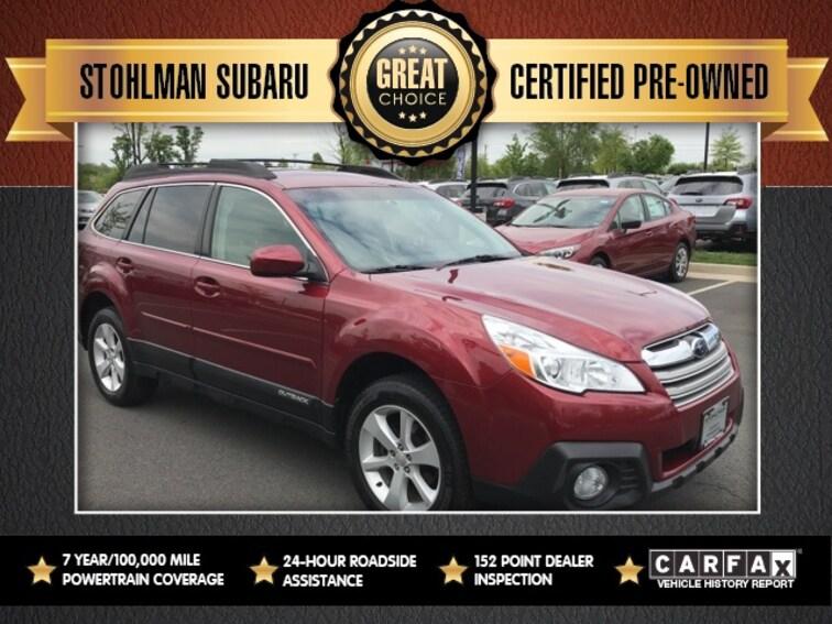 Used 2014 Subaru Outback 2.5i Premium SUV in Herndon, VA