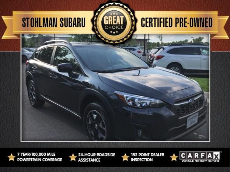 Certified 2018 Subaru Crosstrek 2.0i Premium with SUV Sterling, VA