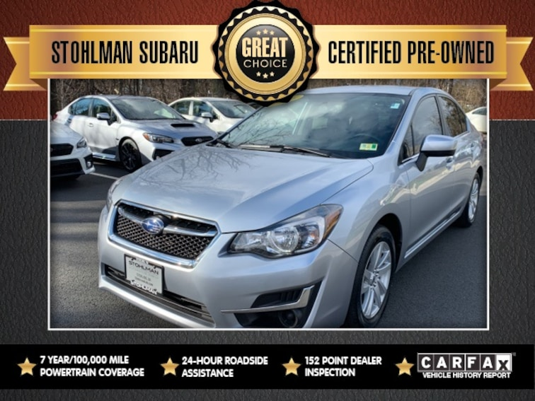 Used 2016 Subaru Impreza 2.0i Sedan in Herndon, VA