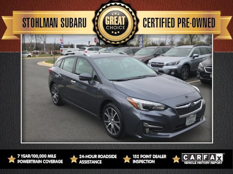 Certified 2017 Subaru Impreza 2.0i Limited 5-door Sterling, VA