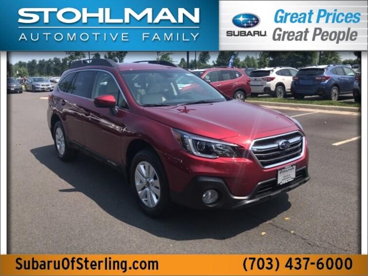 New 2019 Subaru Outback 2.5i Premium SUV for sale in Sterling, VA