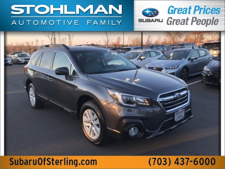 New 2019 Subaru Outback 2.5i Premium SUV for sale in Sterling, VA